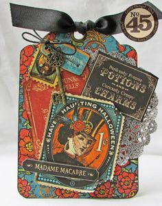 Graphic 45 Steampunk Spells Tag Book
