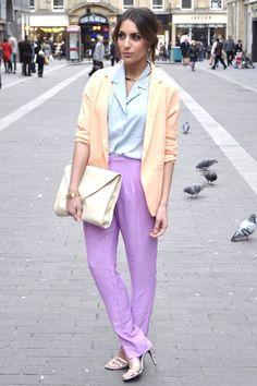 Pastel Colour Blocking - Chic