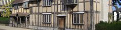 The homepage of the town of Stratford-upon-Avon, where William Shakespeare was born in 1564. #Stratford