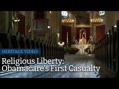 Obamacare: Religious liberty under attack #healthcare #freedom #liberty #religion #firstamendment