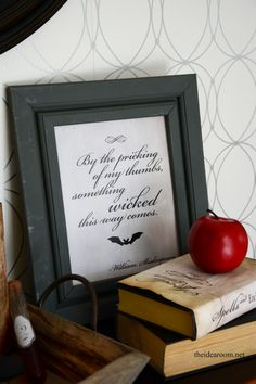 Halloween Printable - TheIdeaRoom.net