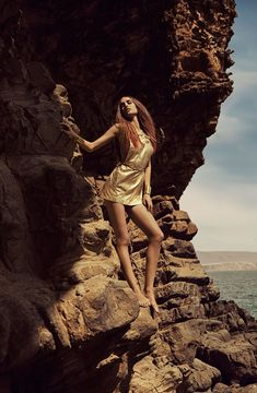 Nadja Bender by Alexander Neumann in 'Gold Dust' for Fashion Gone Rogue