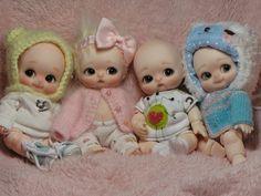 The Bebe Choos #resin #bjd #baby #doll #choos #miniature #mini