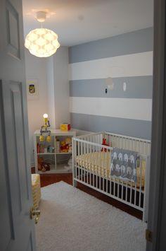 Gender neutral bright modern nursery « Project Nursery