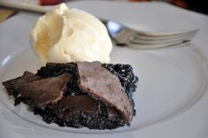 barefoot contessa brownie pudding.