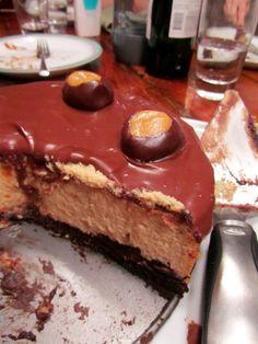 Buckeye Cheesecake | The Spiffy Cookie