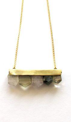 Agate necklace - Plümo Ltd