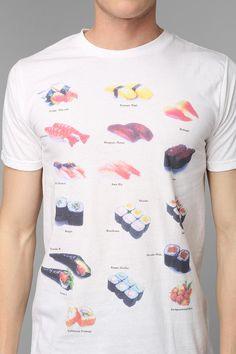 Sushi Tee #urbanoutfitters