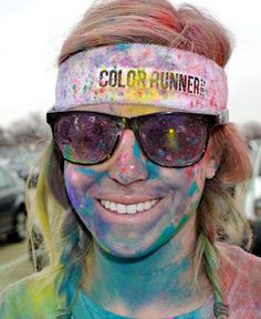 Post color run