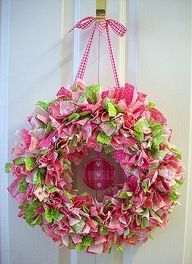 Fabric Wreaths!