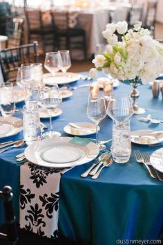 ROYAL Blue Party Ideas on Pinterest