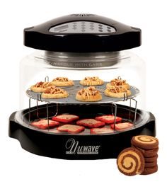 Delicious cookies and pastries made in the NuWave Oven with the NuWave Baking Kit