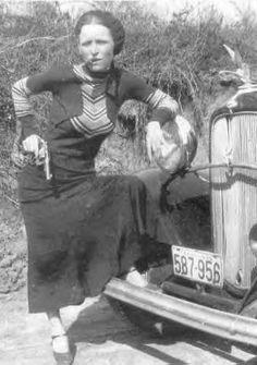 Bonnie Parker (of Bonnie and Clyde fame)