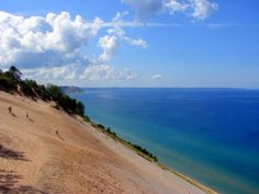 Sleeping Bear Dunes National Lakeshore. #travel, #michigan, #beaches, #greatlakes