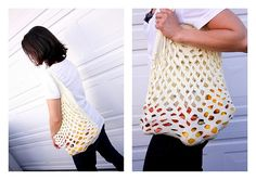 DIY Produce Bag.
