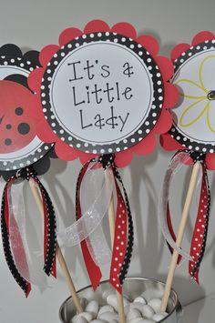 baby shower favors girl baby shower girl ladybug baby shower ladybug