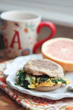 Spinach and Egg Brea