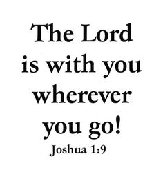 Wherever You Go the lord, joshua 19