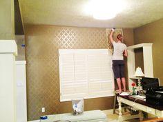 decor, idea, wall quick, easi, diy paint