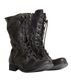 AllSaints Military Boots
