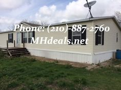 4 bedroom 2 bathroom Double Wide Manufactured home for 36900. Lush carpeting and wood style home. (210)-887-2760  LIC#36155
