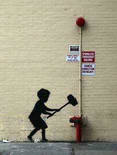 Banksy...