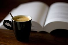 coffee and a good book!