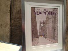 FRAMED ORIGINAL NEW YORKER COVER - NOW FOR SALE ON ETSY