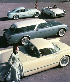 1954 Chevy Corvette's