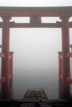 Hakone shrine, Japan