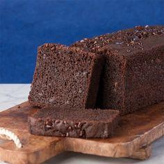 Chocolate Banana Pound Cake, grain-free
