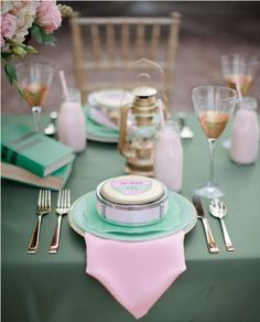 girl scouts inspired bridal shower