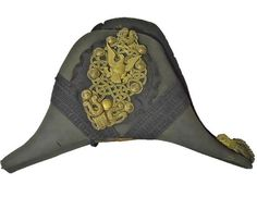 Early 19th C. U.S. Army Officer Fore and Aft Cap