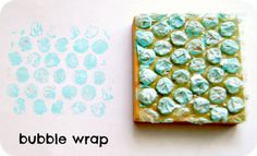 alter artbook, art journal, scrapbooks, bubbl wrap, bubbles, holidays, bubble wrap, stamps, make a stamp
