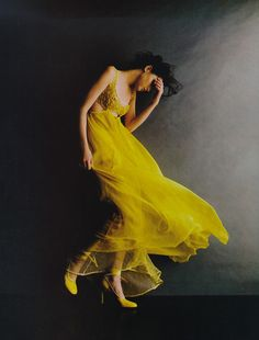 #yellow #dress