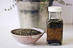 Acne treatment... steep dried thyme in witch hazel and use on acne - more effective than witch hazel used plain. It's made... now to test it.