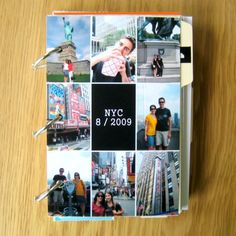 travel scrapbook - a must from now on!