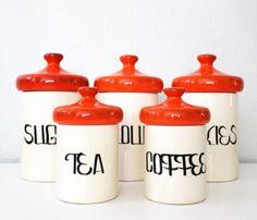 Kitchen Jars. DIY.
