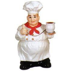 Chef Cookie Jar ~