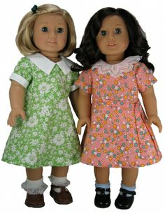 1930's inspired American Girl Dress Patterns $8.99
