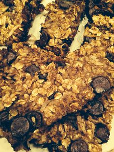 Homemade healthy granola bars!