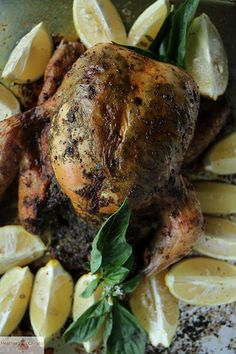 Pesto Roasted Chicken by Heather Christo