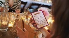 Guests will undoubtedly gush over your gown, be amazed by your centerpieces and snap photos of the w