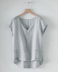 poetry | short sleeved hemp top