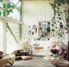 A fairytale garden in your living room