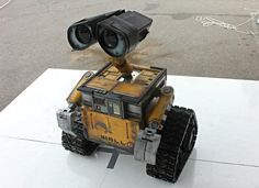 WALL-E robot brought to life
