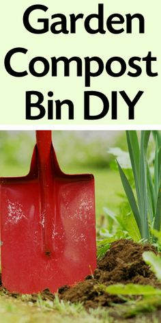 How To Make an Easy DIY Compost Bin. I love composting!