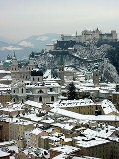 Breathtaking Rooftop Pictures -  Salzburg by Becks