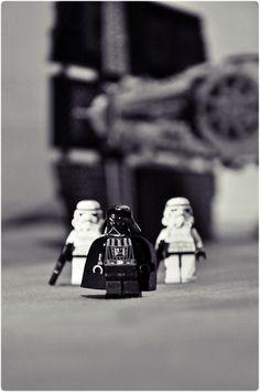evil by freshpädda | LEGO Star Wars Darth Vader & Stormtrooper Minifigs