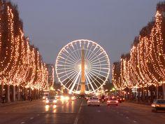 champ elyss, champ elyse, beauti place, des champsélysé, pari, champs elysees shopping, champselyse, christma, champ elysé